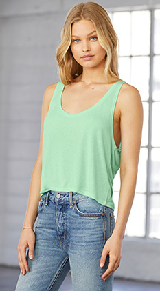 62a9174f102c5 SALE Featured Style Closeout Item New Item Drop Ship Call for Pricing  Bella+Canvas Women s Flowy Boxy Tank