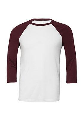 0a6ee90ab5623 SALE Featured Style Closeout Item New Item SELECT Call for Pricing  Bella+Canvas Unisex Jersey 3 4 Sleeve Baseball Tee