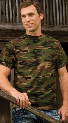 d37c6debee23d SALE Featured Style Closeout Item New Item Drop Ship Call for Pricing Anvil  Camouflage Tee