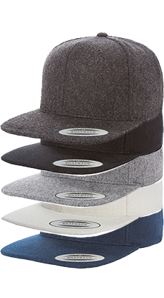 843ba71938a42 SALE Featured Style Closeout Item New Item Drop Ship Call for Pricing  YUPOONG Melton Wool Snapback
