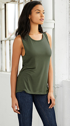 33b3398e71708 SALE Featured Style Closeout Item New Item Drop Ship Call for Pricing  Bella+Canvas Women s Jersey Muscle Tank
