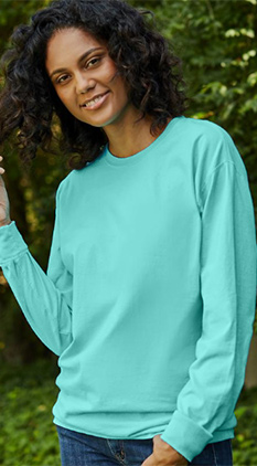 ccbb122fba770 SALE Featured Style Closeout Item New Item Drop Ship Call for Pricing Hanes®  ComfortWash™ Long Sleeve Tee
