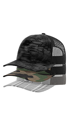 Golden State Activewear - 112P Richardson Printed Trucker 38f44d3a442