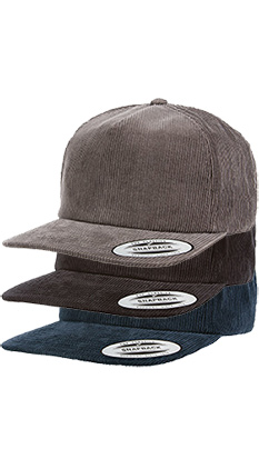 44298b7b51339 SALE Featured Style Closeout Item New Item Drop Ship Call for Pricing  YUPOONG Corduroy Snapback