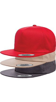32a14fee1cc9a SALE Featured Style Closeout Item New Item Drop Ship Call for Pricing  YUPOONG Unstructured Five-panel Snapback