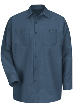 Custom Zone - Red Kap Industrial Long Sleeve Work Shirt