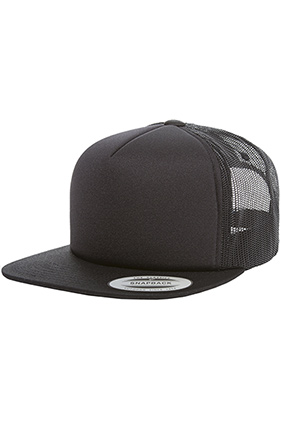 fc2d086fa6f Yupoong Flat Bill Snapback Foam Trucker 6005    Featured Item    Closeout  Item New Items On Sale - up to 0% off Drop Ship