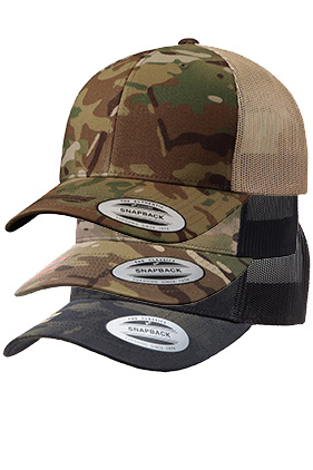 8c282d8fbab Yupoong Camo Retro Trucker 6606CA    Featured Item    Closeout Item New  Items On Sale - up to 0% off Drop Ship